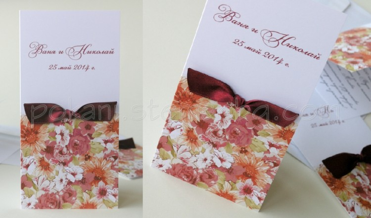 how to make wedding invitations сватбени покани stemac 5013